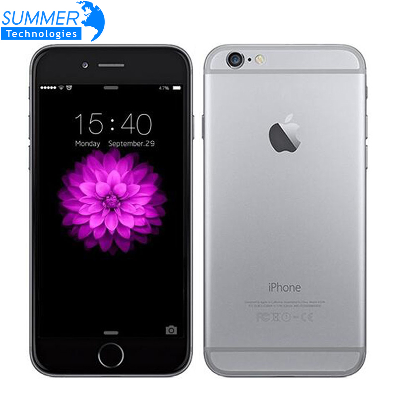 Original Unlocked Apple iPhone 6 Mobile Phone IOS Dual Core WCDMA LTE 4 7 IPS 1GB