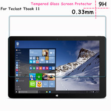 "Películas de vidrio para Teclast Tbook11 10.6 ""tablet 9 H HD Clear Protector de Pantalla de Cristal Templado de cine para Teclast tBOOK 11 Protector de Pantalla"