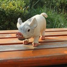 easter spring decoration realistic lifelike pig