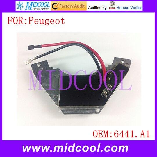 Calentador Motor Del Ventilador Resistor Para Peugeot 306 6441a1