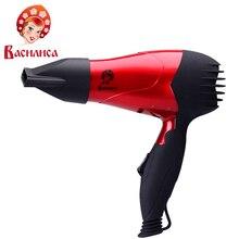 Фен ВАСИЛИСА ФН1-1000 со складной ручкой, мощность 1000Вт, 2 режима мощности, концентратор, петелька для подвешивания, защита от перегрева, противоскользящее резиновое покрытие корпуса.