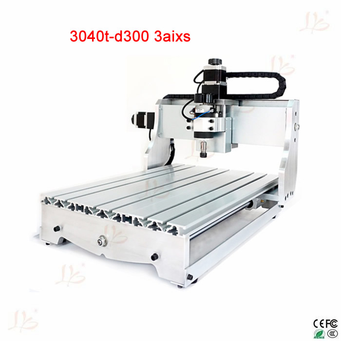 hot sale CNC 3040 T-D300 cnc Router Engraver for crystal  hot sale mini cnc engraver cnc router aluminum