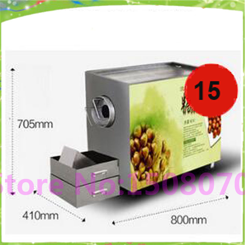 2017 trending products small peanut roasting machine /commercial nut roasting machine/gas chestnut roaster machine roger kp 14