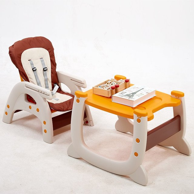 Baby Dining Chair Baby Feeding Highchair Separable Chair U0026 Desk Babysiting  Multifunctional Baby High Feeding Dinner Chair Table