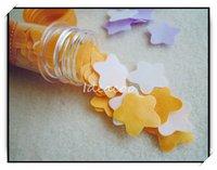 3шт / lot творческие естественная в пробирке мгновенных цветок бумага мыло для малыш украшение путешествие