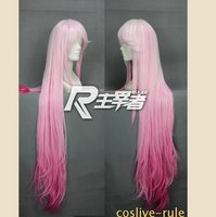 выиграть, 110 см sling D розовый прямой косплей потому парк, ну поливать синтетических волос, есть на складе