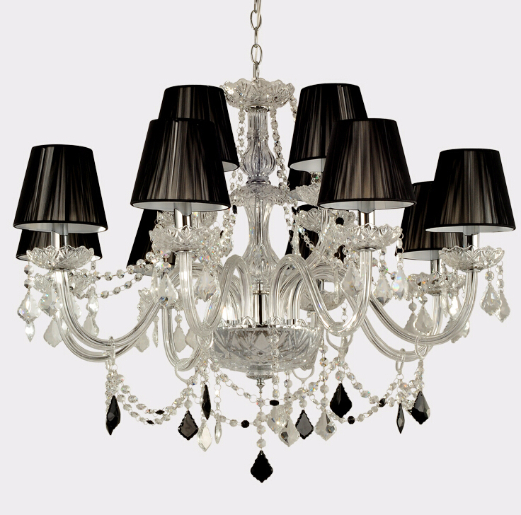 Crystal Chandeliers Modern Luxury Lustres Chandelier LED E14 Home Deco Lobby Retro Lighting Lustre Abajur in Chandeliers from Lights Lighting