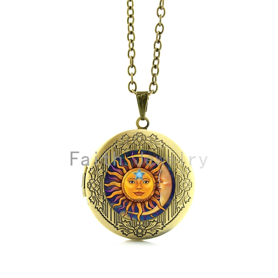 women jewelry golden pendant diamond a sun lani s lyst rose with ileava cut