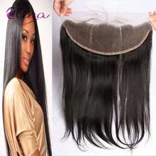 13×4 Lace Frontal Closure Bleached Knots Straight Virgin Hair Top Frontal Brazilian Lace Frontals With Baby Hair From Ear To Ear