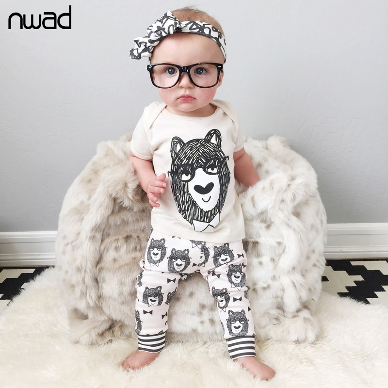 2017 Summer Fashion Cotton Baby Clothing Toddler Boy Monsters Clothes Sets Baby Set Short Sleeve T Shirt  +Pants FF011 от Aliexpress INT