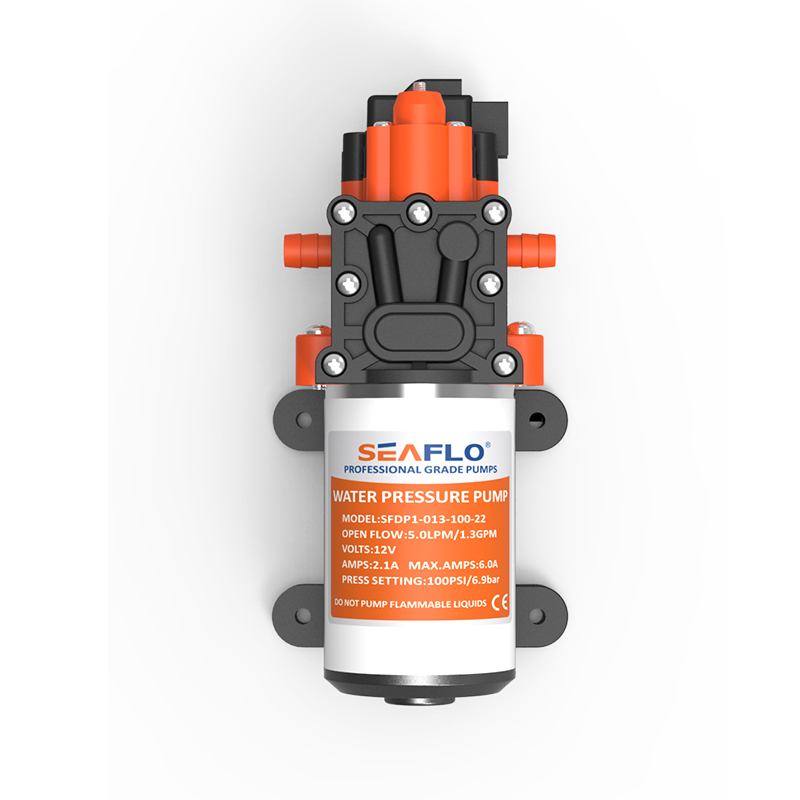 NEW 2016 Hot sale Water Pump 12V Automatic Diaphragm Pump 5LPM 6A 100PSI for Marine RV