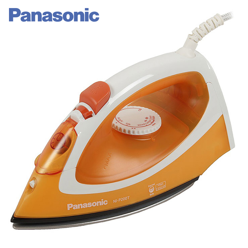 Panasonic NI-P200TTTW Electric Iron 1550W Water spray function Anti-scale system Titanium sole with non-stick coating