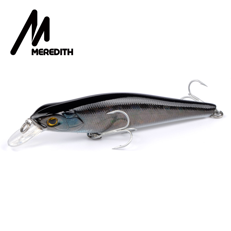Meredith Lures Fishing 1pcs16g 105mm Suspending Minnow Fishing Hard Artigicial Bait Goddess Maker wobblers Hooks Carp Fishing