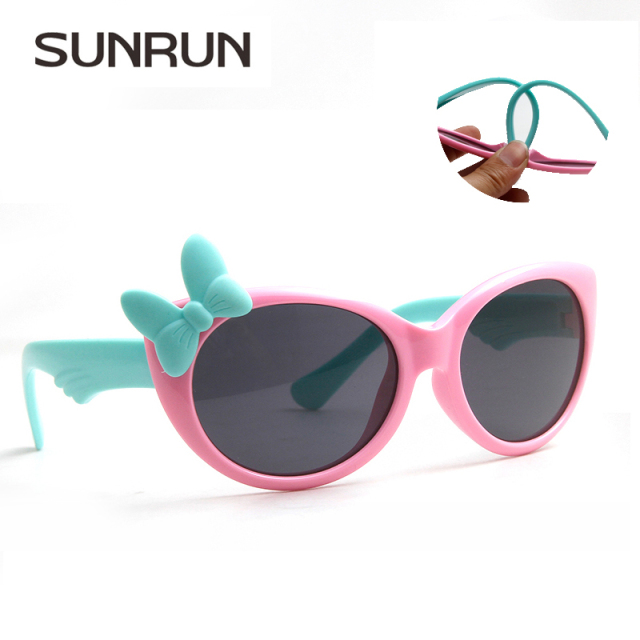 Polarized Bow Frame Sunglasses