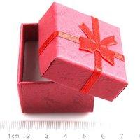 9х мода красной площади цветок бумага кольцо коробка ювелирных изделий и подарочная упаковка коробка дисплея 40*40*32 мм 120355