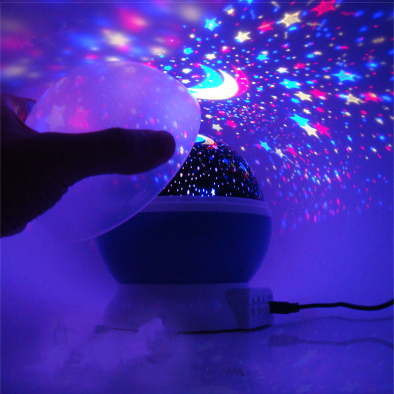 Mini LED Laser Projector Stage Light Xmas Party Lighting With Automatic Control Function Moon and star Free Shipping стоимость
