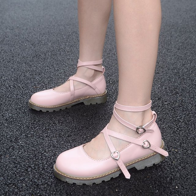 2016 Japanese soft sister Oxford bottom bind doll shoes princess women's singles round head students summer A657