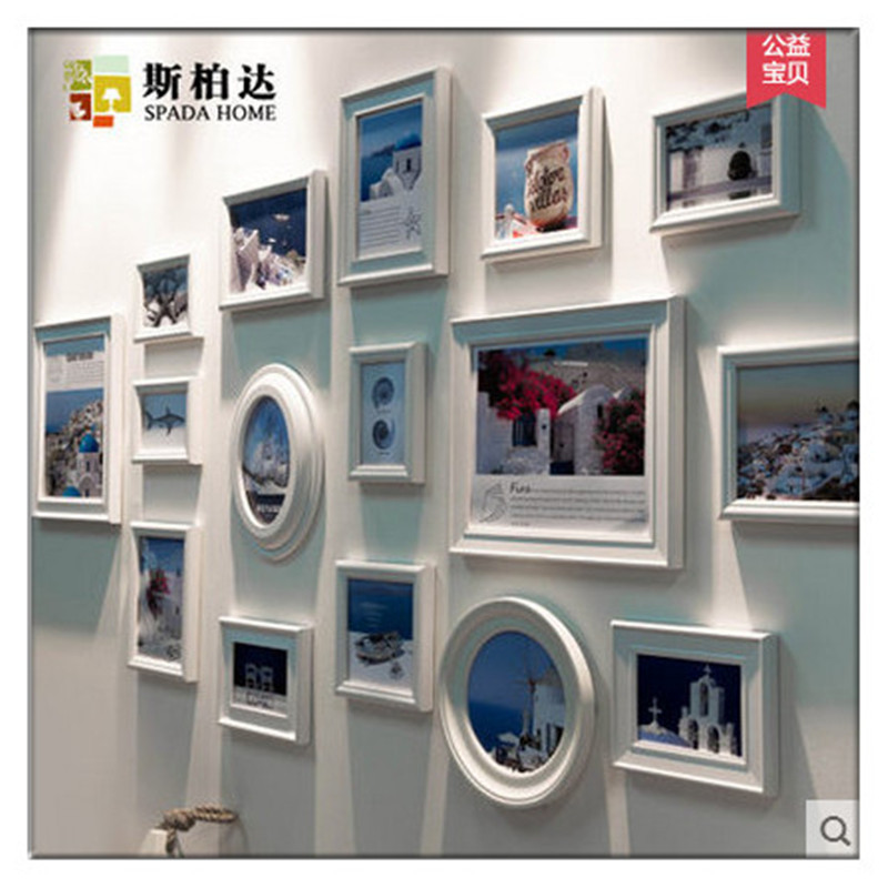porta retrato de parede para fotos digital photo frame calendar digital picture display frame photo wall combination