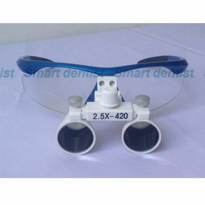 ФОТО 2016  2.5X magnify dental magnifier medical equipment antifog loupes optical glasses Dentist 2.5 times surgical loupe