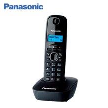 Panasonic KX-TG1611RUH DECT телефон, русифицированное меню, российский определитель номеров АОН, записная книжка на 50 контактов, 12 мелодий звонка, поиск трубки, подсветка дисплея, будильник.