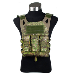 Gen2 Jim Pate Carrier PenCott GreenZone Tactical vest for airsoft Navy Jump Plate Carrier