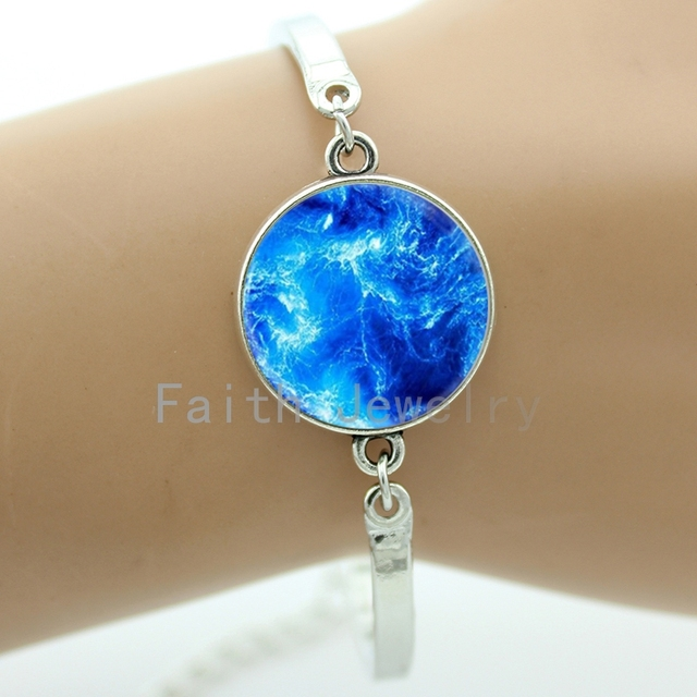 wave jewelry new sea dainty bracelet ocean surfer fashion item beach delicate sanlan