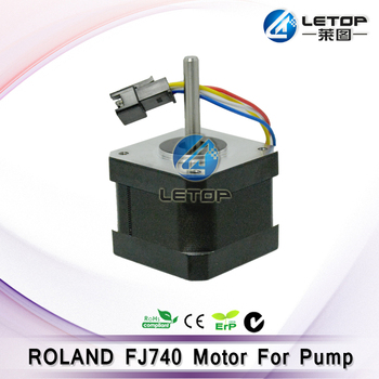 Good price! Outdoor printer spare parts ink pump motor for roland FJ740