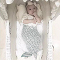 Sleeping Bag Mermaid Blanket Baby Sleep Sack Sleeping Newborn Bed Baby Bites Sleepsack Shark Sleep Envelopes For Newborns