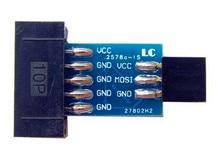 Free Shipping!!!  AVRISP / USBASP / STK500 / 10PIN turn / 6PIN adapter plate /Electronic Component
