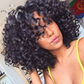 8A Hot Glueless Full Lace Wig Curly Human Hair Brazilian Virgin Full Lace Kinky Curly Human Hair Wigs For Black Women Free Ship