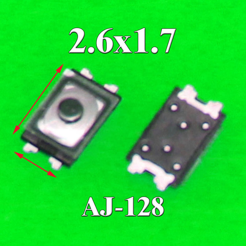 50x Power Button Switch Top Inner ON OFF Contact Button For iPhone 6 6s от Aliexpress INT