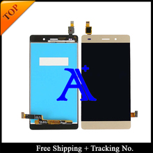 Free shipping 100% Test  working for Huawei Ascend P8 lite  LCD Display Touch Screen Digitizer -5.0 inch