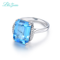 Anillo Top Quality Elegant 925 Sterling Silver Engagement Rings emerald AAA Sapphire Stones Rings for Woman Fine Jewelry Gift