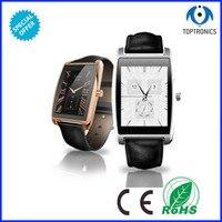 2016 שעון עמיד למים חכמים מסך מגע משטח מעוגל bluetooth4.0 עבור ios אנדרואיד bluetooth smartwatch עם מחיר סביר-בשעונים חכמים מתוך מוצרי אלקטרוניקה לצרכנים באתר