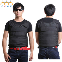 Bulletproof vest Tactical Kevlar Aramid Protect life safety SWAT police security Military Protective  bullet proof vest Vest