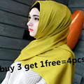 32 cores de cetim de seda das mulheres xaile do lenço muçulmano hijab meninas tampas turbante islâmico cabeça revestimentos CQ 6606