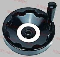 12 100mm Within The Corrugated Hand Wheel Bakelite Hand Wheel Disc Machine Handwheel Collapsible Inner Wave