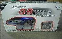 крупнейшая 134 см qs8006 вертолет 3.5 канальный R / C в хели гироскопа 2 скорость модель ГТ с дистанционным управлением самолет из светодиодов фары 8006 формате rtf без аккумулятор