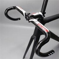 In 2016 Carbon Fiber Bicycle Handlebar Bike Of The Road EC90 Aero Carbon Handlebar 400 420