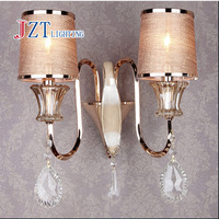T European style Led Europe Crystal Wall Lamp Modern Lamp for Bathroom Corridor Stairs High Quality Novelty lights Porch Light!