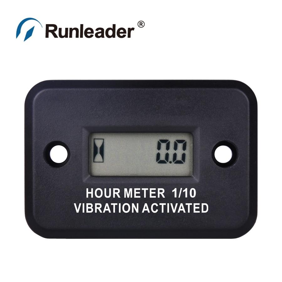Digital Waterproof Vibration wireless hour meter for motorcycle ATV jet ski marine tractor jet BOAT pit bike lawn mower chainsaw