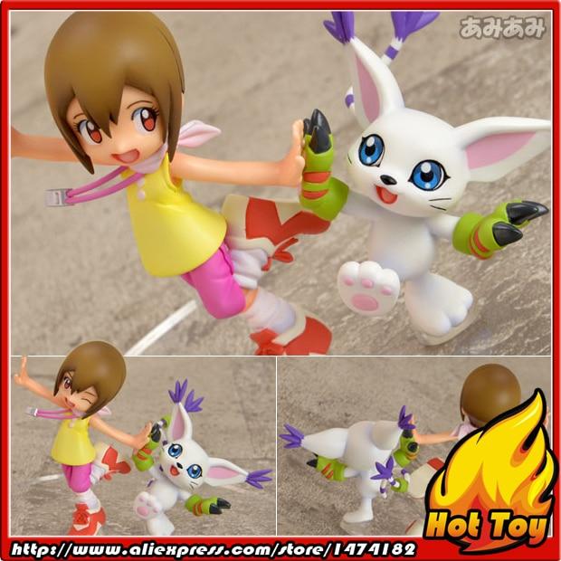 100% Original MegaHouse G.E.M. Complete Figure - Hikari Yagami & Tailmon from Digimon Adventure 100% original megahouse g e m remix complete figure uzumaki naruto