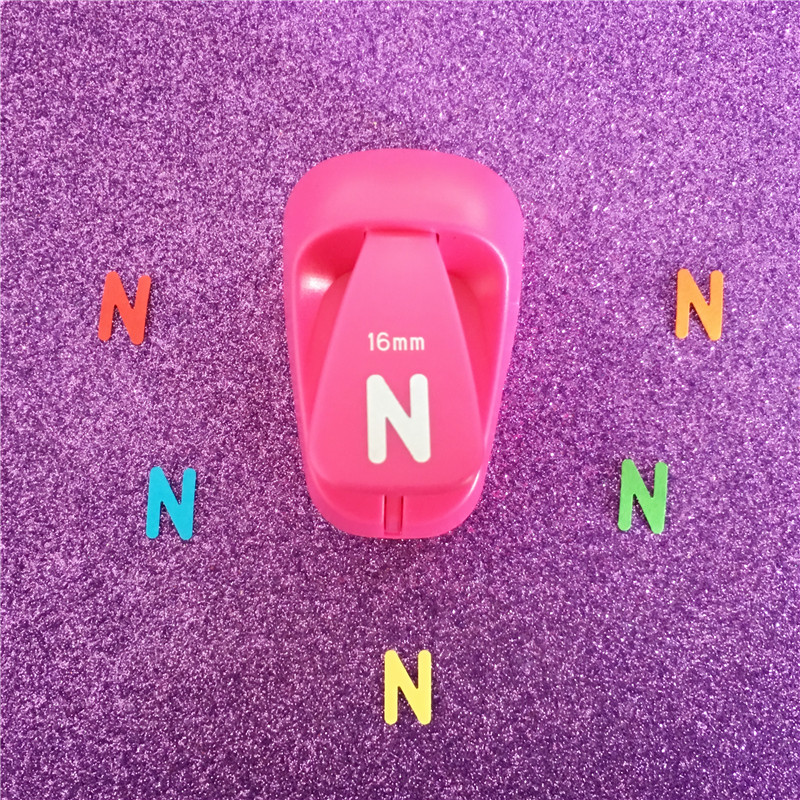 Letter Hole Puncher.Us 6 45 Free Shipping Alphabet N Shaped Save Power Paper Eva Craft Punch Scrapbook Handmade Punchers Diy N Letters Hole Punches Puncher In Hole
