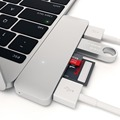 -Tipo C Adaptador Hub USB 3.0 5 em 1 Combo USB C slot para cartão micro sd adaptador conversor para macbook air pro huawei