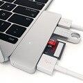 Tipo C Adaptador USB Hub USB 3.0 5 en 1 Combo C ranura para tarjeta sd micro adaptador convertidor para macbook air pro huawei