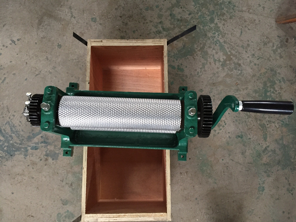 Handle control beeswax foundation comb machine beeswax embosser 74 75 310mm