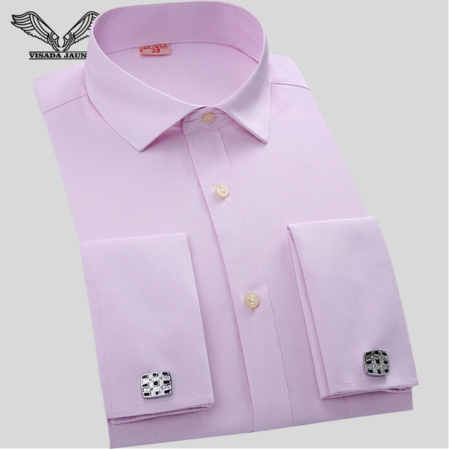 2017 Spring Autumn Men's Shirt Solid Color Business Camisa Social Masculina Brand Clothing Fashion Fitness Slim Male Dress N880