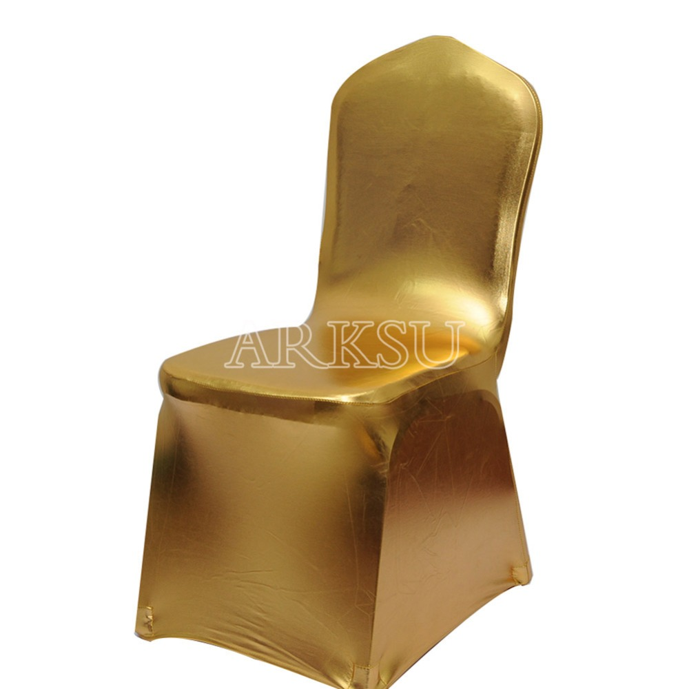 10pcs luxury spandex folding chair covers stretch chair cover dining wedding chair decoration party supplies home