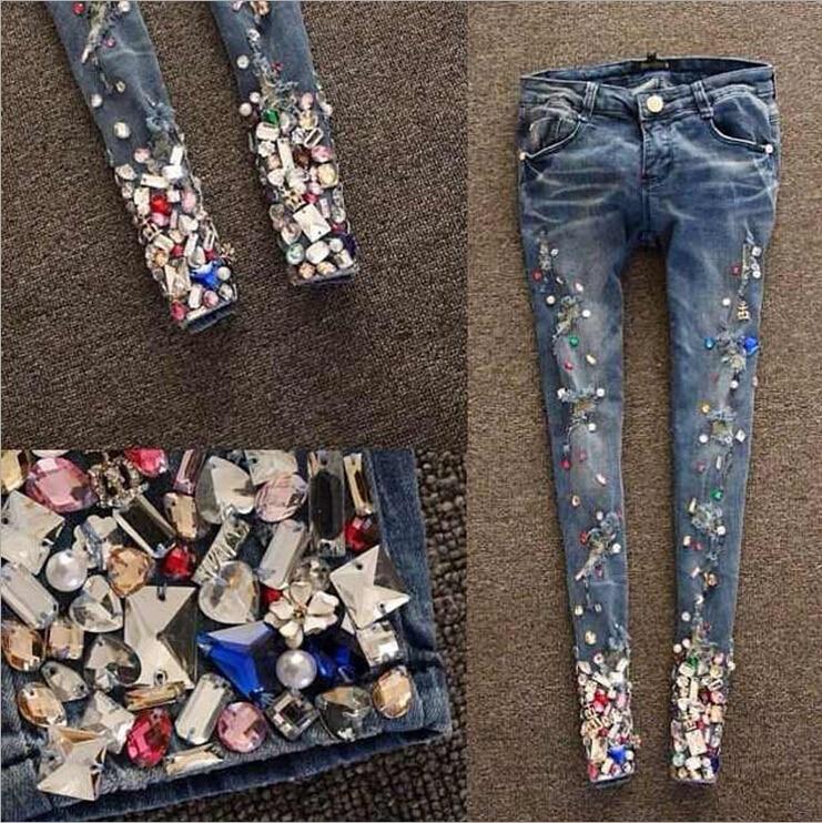 bbbc3ce8 Online Get Cheap Rhinestone Jeans -Aliexpress.com Alibaba Group