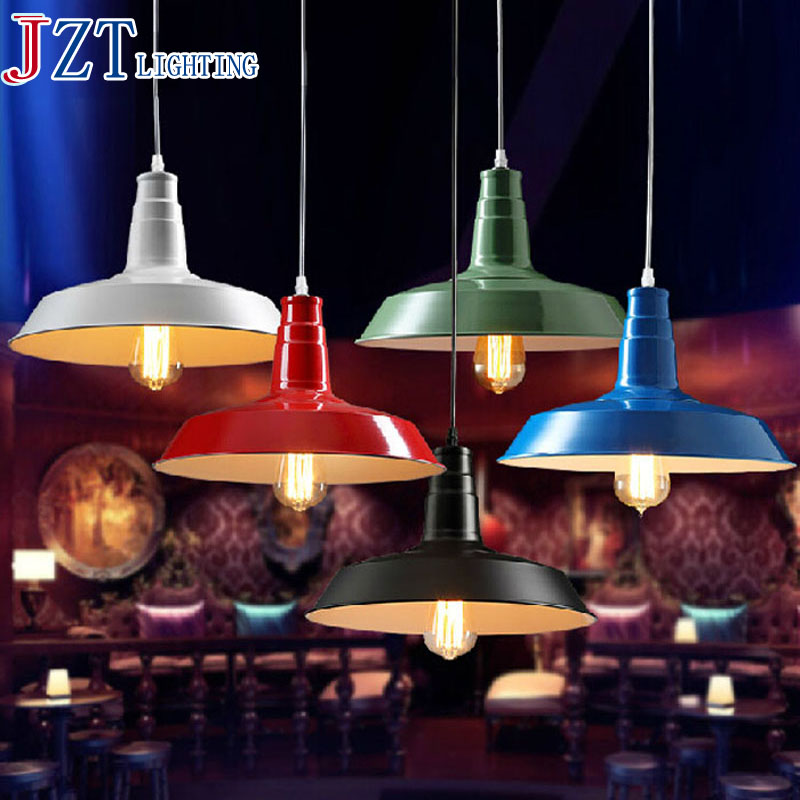 Best Price Industrial Pendant Lamp American Country Retro Light Wrought Iron Single Head Industry Lamp Light E27 Holder Iron kung retro black white silver gold color wrought iron lampashade led pendant light decorative with e27 holder 1 2 meter cable